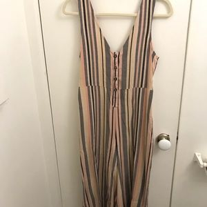 Urban Outfitters Multi Colored Jumpsuit